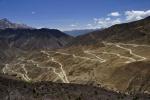 Tibet, switchbacks