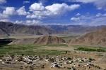 Tibet, villages near Ganden Monastery