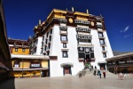 Tibet, White Palace of the 13th and 14th Dalai Lamas at the top of the Potala Palace, Lhasa