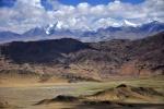 Tibet - scenery near Saga and the Yarlung Tsangpo River