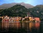 Varenna village on the shores of Lake Como, Italy