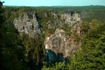Bastei pinnacles near Dresden, Germany