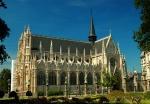 Gothic Notre Dame du Sablon church, Brussels