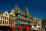 Town Hall and Grand Place, Brussels, Belgium