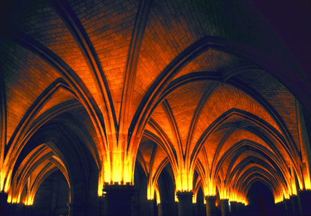 Gothic Arches Concierge Palace Paris, France