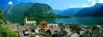 Hallstadt panorama, Austria